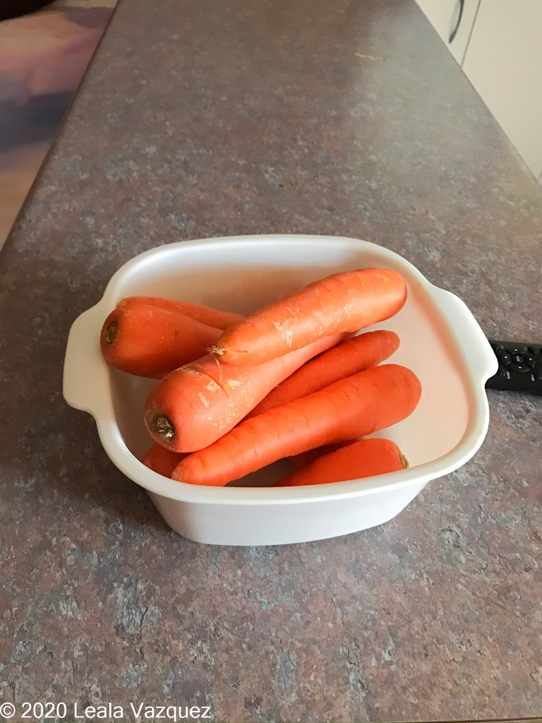 Carrots come with the room